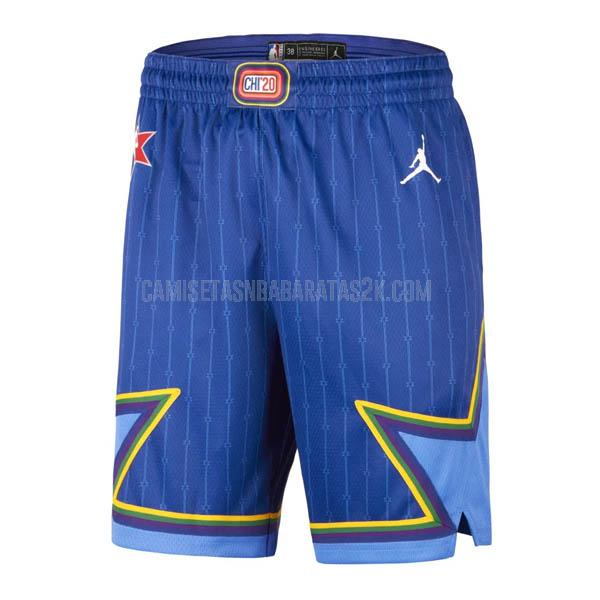 pantalones cortos nba all star de la azul 2020