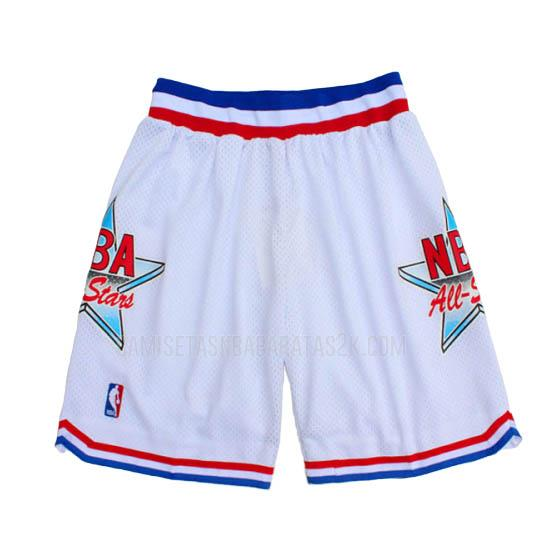 pantalones cortos nba all star de la blanco 1992