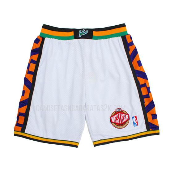 pantalones cortos nba all star de la blanco 1995