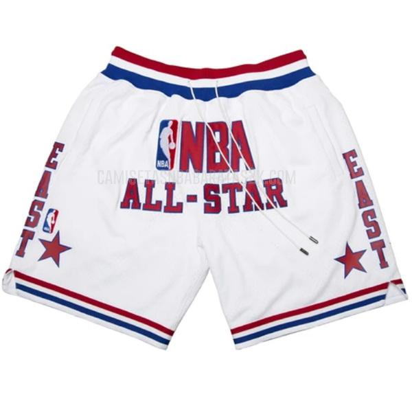 pantalones cortos nba all star de la blanco just don bolsillo 2003