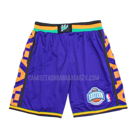 pantalones cortos nba all star de la morado 1995