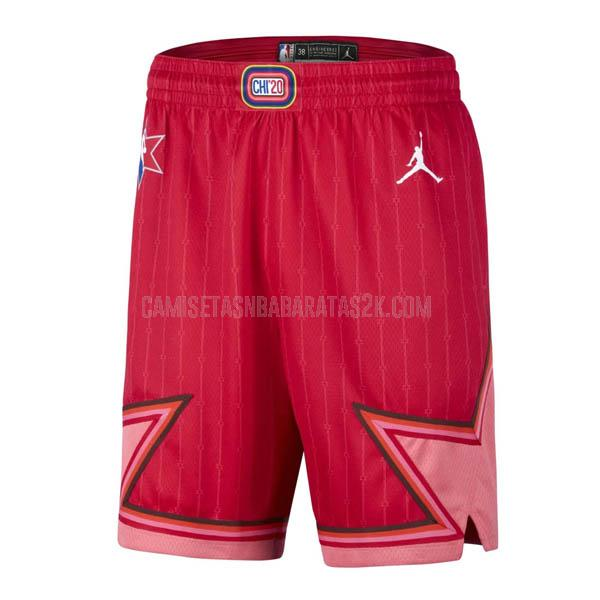 pantalones cortos nba all star de la rojo 2020