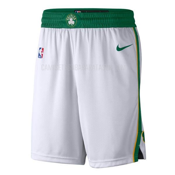 pantalones cortos nba boston celtics de la blanco edición city