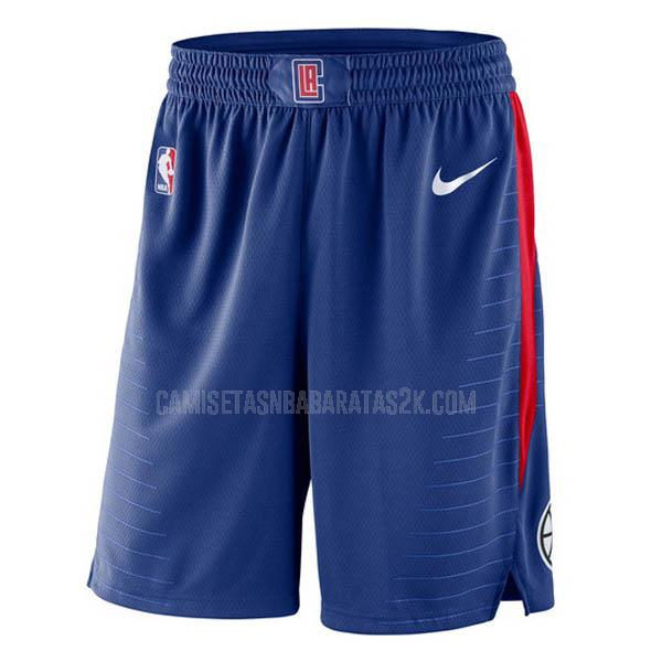 pantalones cortos nba los angeles clippers de la azul