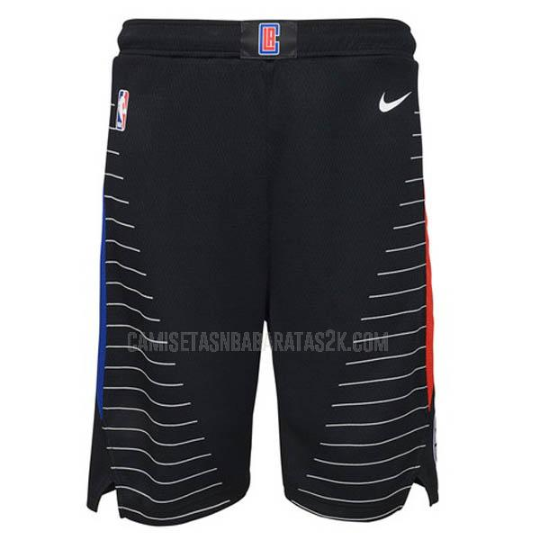 pantalones cortos nba los angeles clippers de la negro