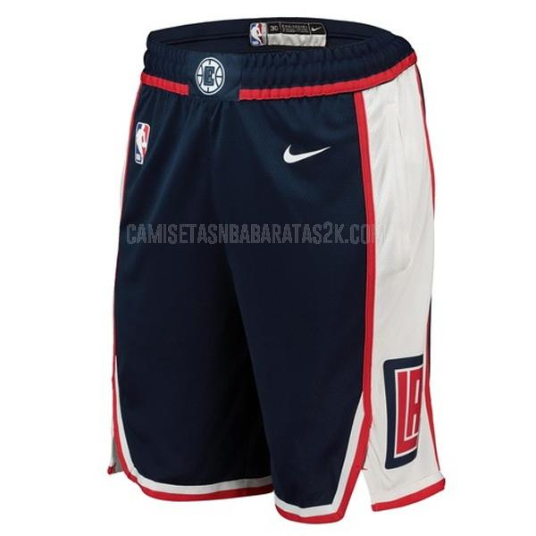 pantalones cortos nba los angeles clippers de la negro edición city